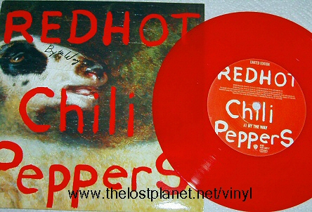Red hot chili peppers vinyl